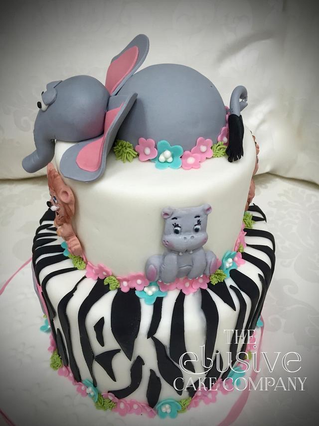 Jungle baby birthday