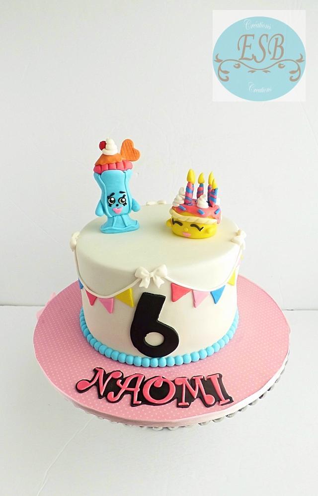 Adorable Shopkins cake
