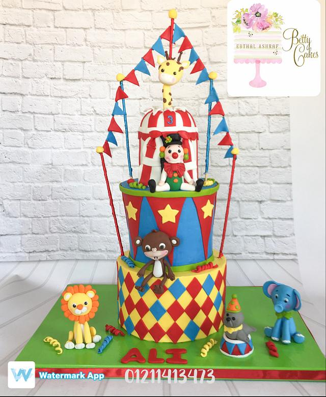 My second circus cake wish you like it