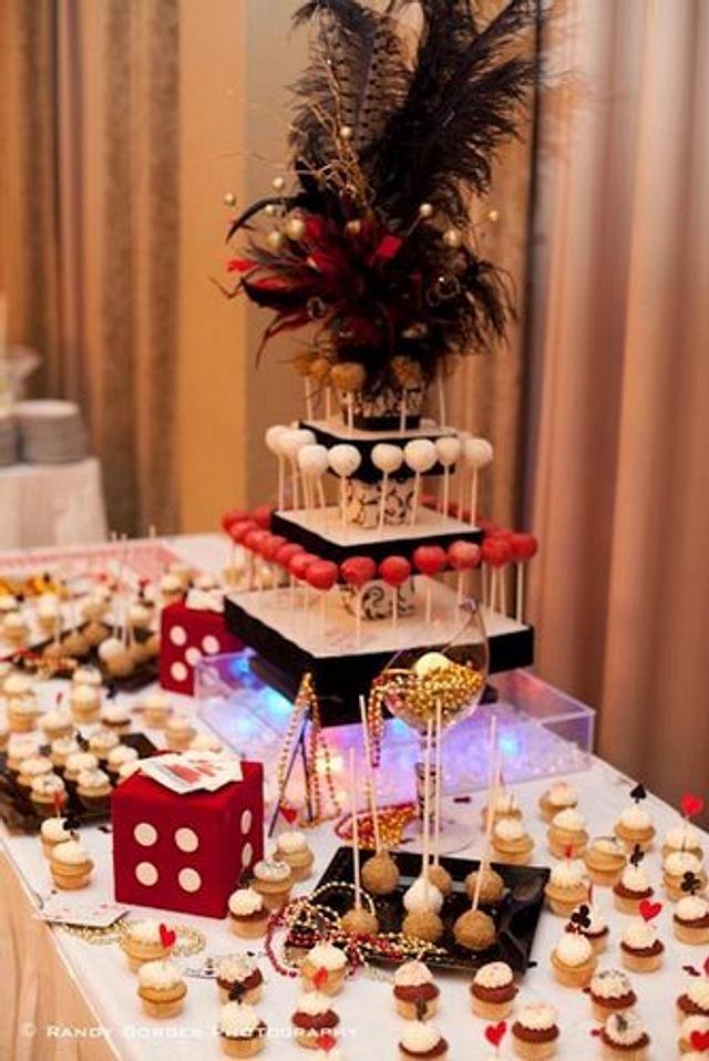 Casin Cake Pop Display