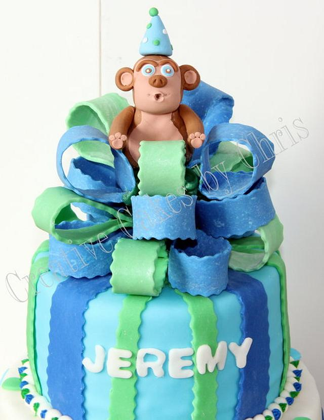 Monkey 1st Birthday with Smash