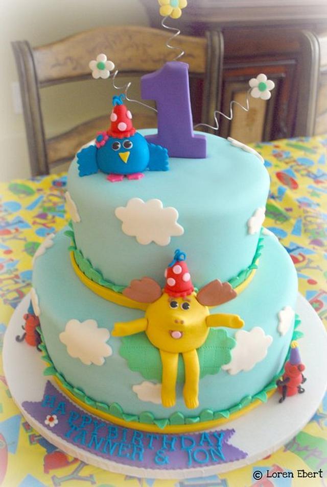 Moose & Zee Cake