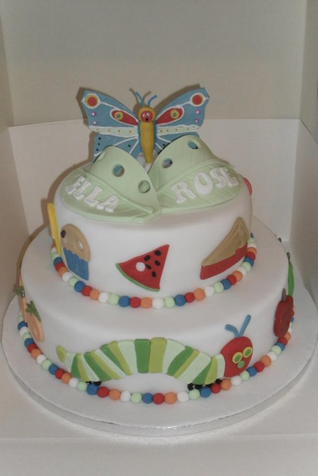 Hungary caterpillar cake