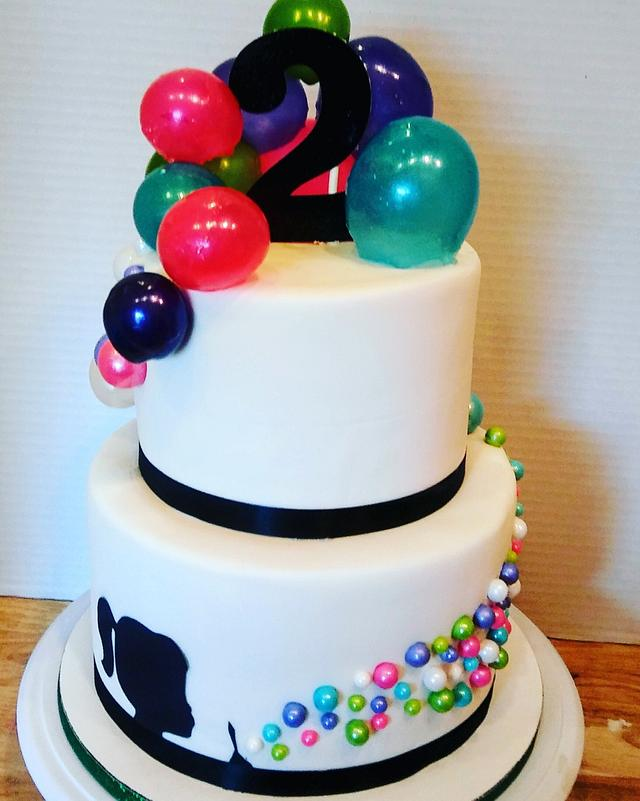 Terrific Gelatin Bubble Birthday Cake Cake By Tiffany Dumoulin Cakesdecor Personalised Birthday Cards Paralily Jamesorg