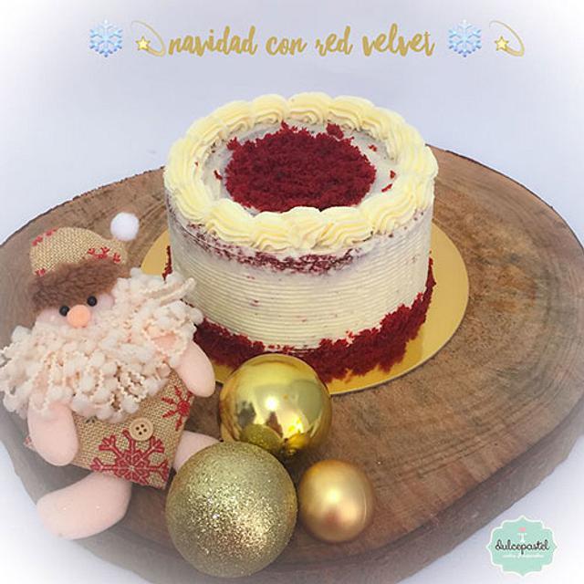 Torta Navidad Red Velvet