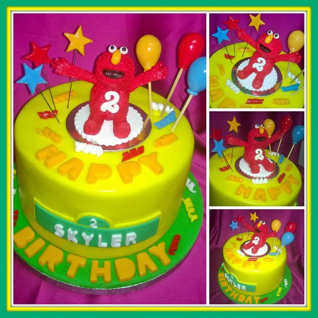 Amazing Elmo Birthday Cake Cake By Unique Colourful Cakes By Cakesdecor Funny Birthday Cards Online Necthendildamsfinfo
