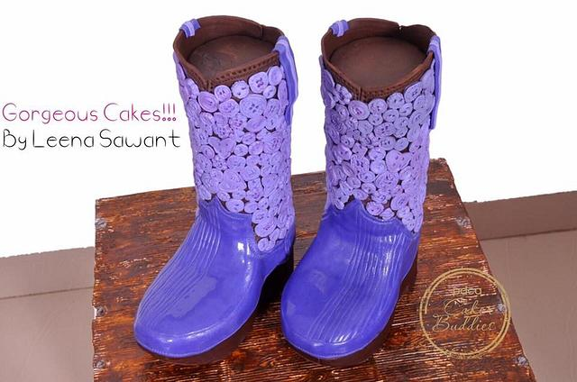 """Little Princesses Boots- Inspired by """"Want My New Shoes"""" PDCA CAKER BUDDIES COLLABORATION"""