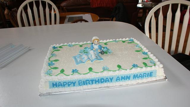 Amish Birthday Cake