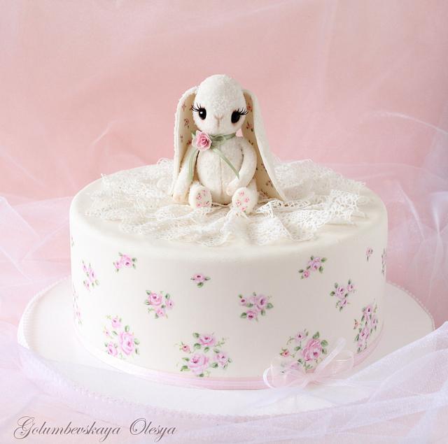 "Cake ""Cute Bunny"""