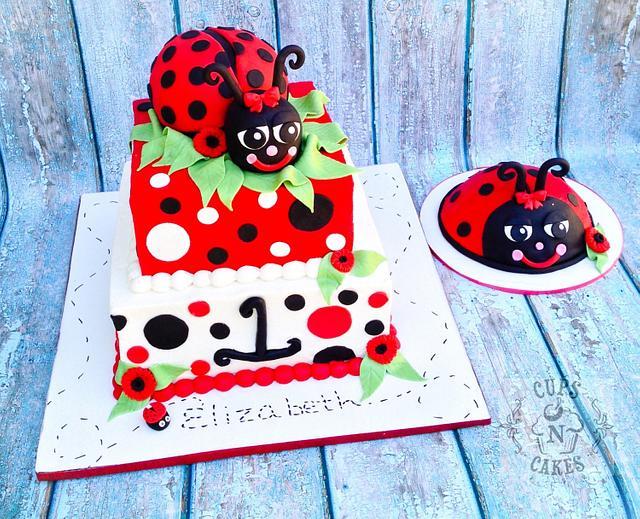 Miraculous Ladybug 1St Birthday Cake By Cups N Cakes Cakesdecor Birthday Cards Printable Giouspongecafe Filternl