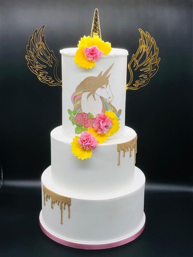 Unicorne cake