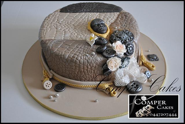 Cake for dress maker ☺
