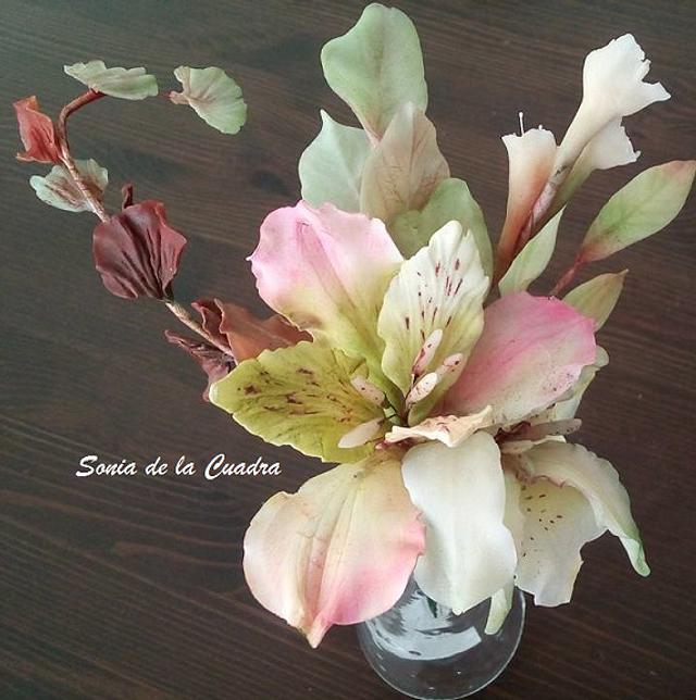 Chocolate Flowers