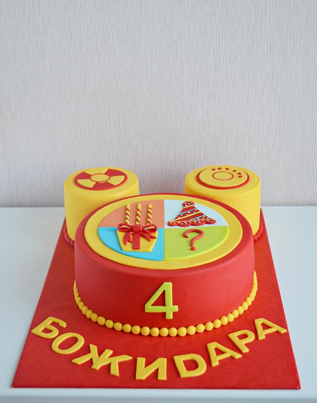 Outstanding Toodles Cake By My Sweet Hobby Cakesdecor Funny Birthday Cards Online Alyptdamsfinfo