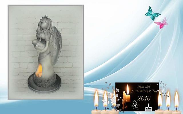 Sweet Art for World Light Day 2016 - Guardian Angel