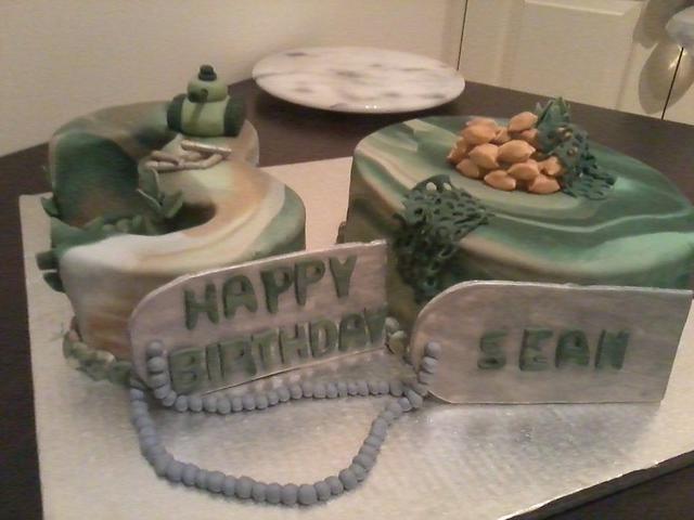 Super Army Birthday Cake By Liors Cake Designs Cakesdecor Funny Birthday Cards Online Alyptdamsfinfo