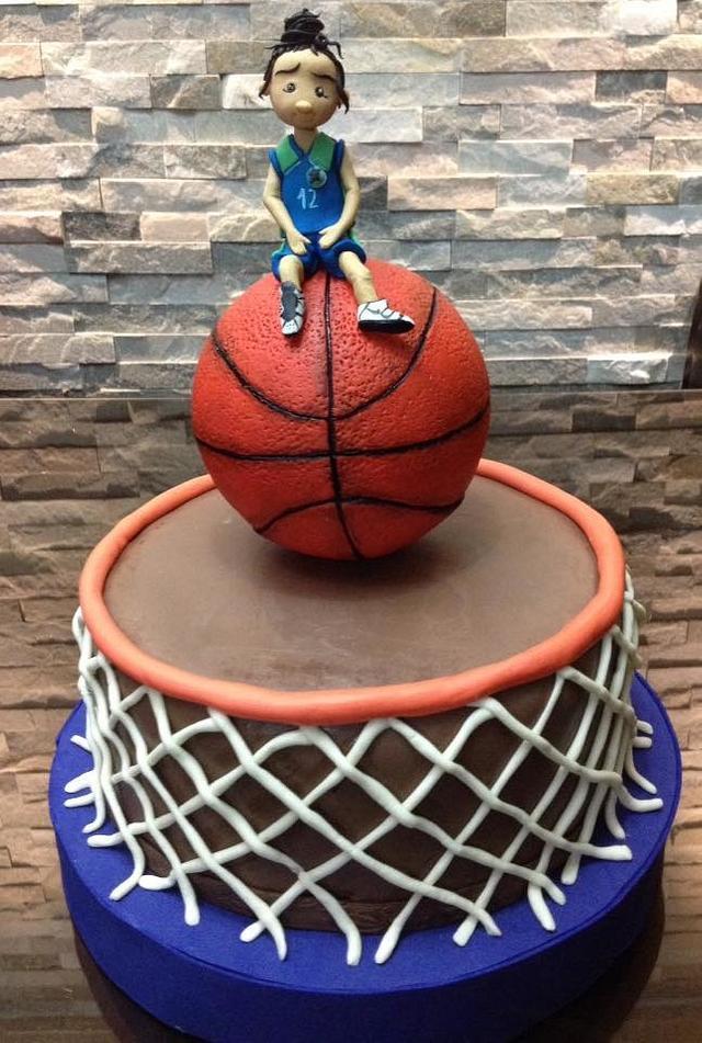 """torta de """"basketball"""""""