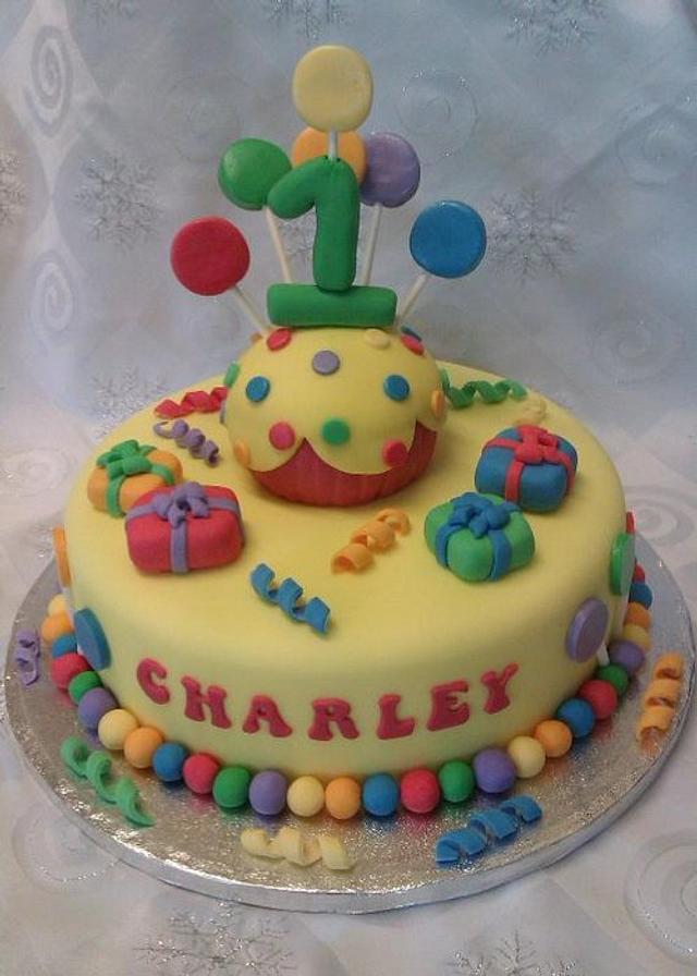 1st Birthday Cupcake