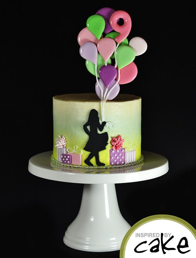 Magnificent Very Quick Birthday Cake Cake By Inspired By Cake Cakesdecor Personalised Birthday Cards Veneteletsinfo