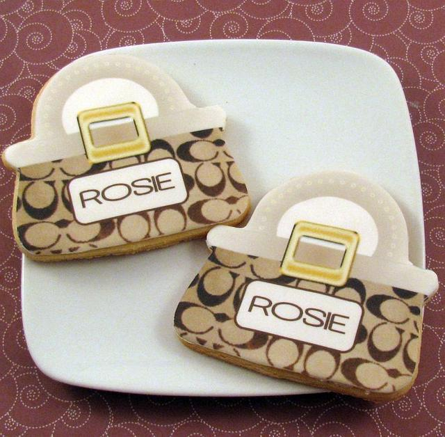 Coach Purse Cookie