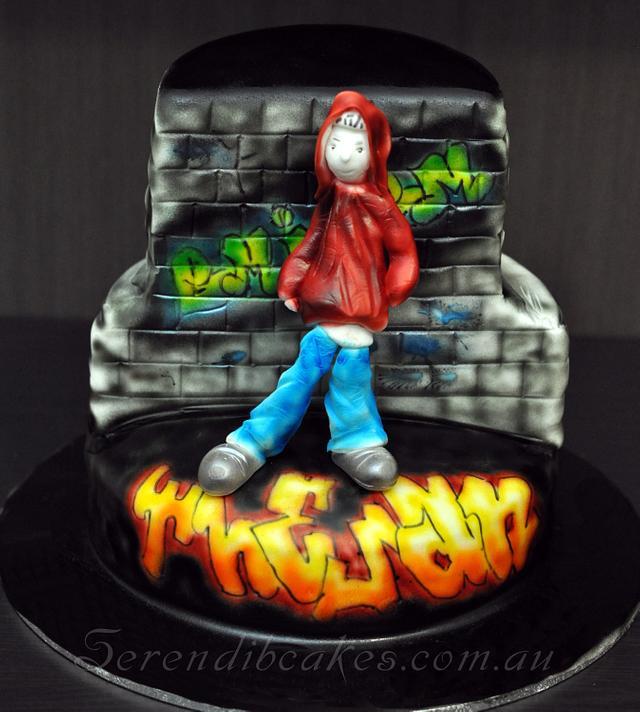Groovy Eminem Cake By Serendib Cakes Cakesdecor Funny Birthday Cards Online Bapapcheapnameinfo