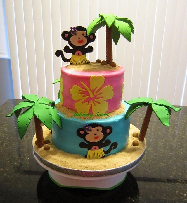 Tropical Monkey Cake