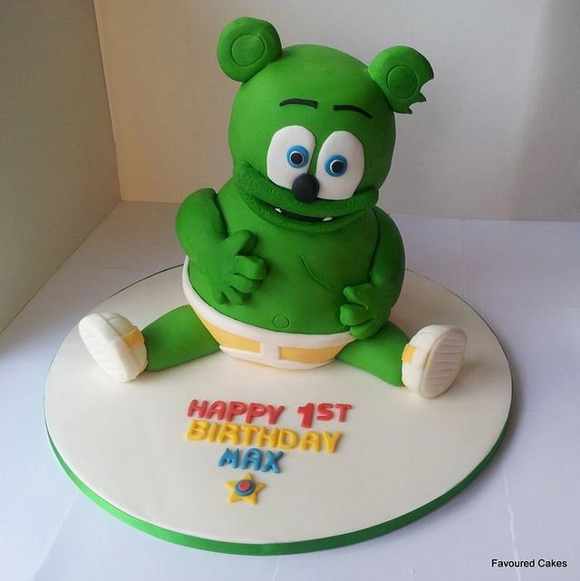 Astounding Gummy Bear Cake Cake By Favoured Cakes Cakesdecor Funny Birthday Cards Online Benoljebrpdamsfinfo