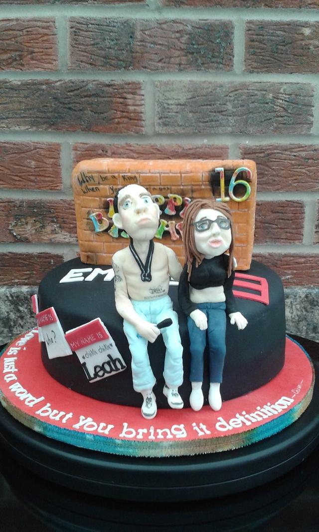Admirable Eminem Cake Cake By Karens Kakery Cakesdecor Funny Birthday Cards Online Bapapcheapnameinfo