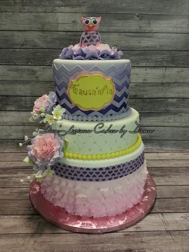 """""""Sugar Angel"""" Owl dream cake"""