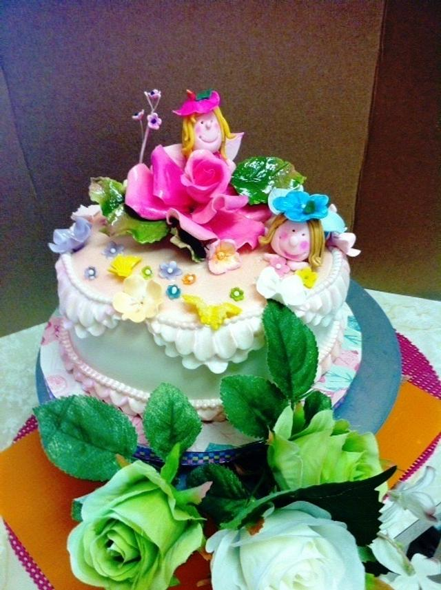 Little Fairies Birthday Wishes
