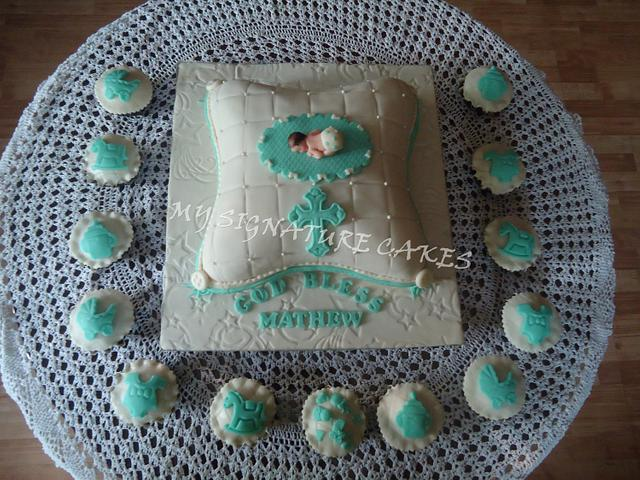 A Christening Cake