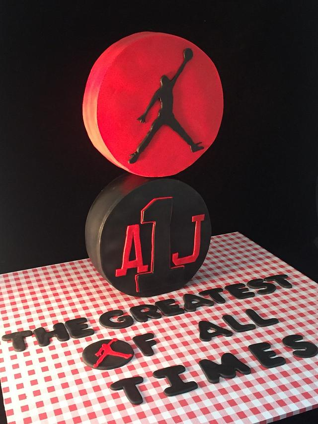 Jumpman Cake