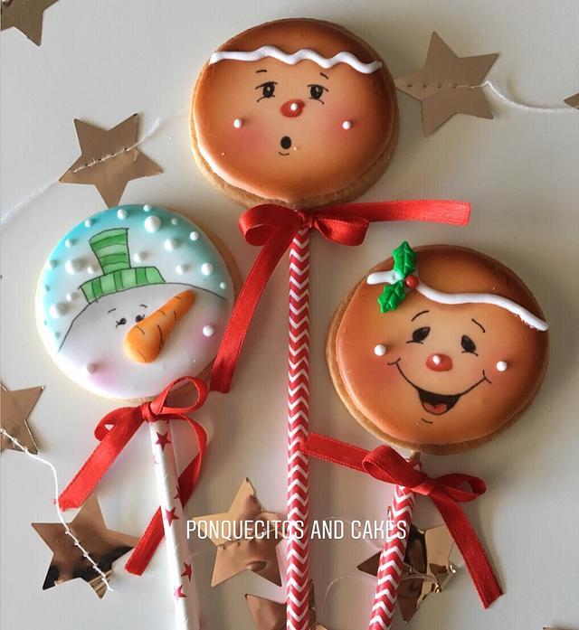 Happy airbrush cookies