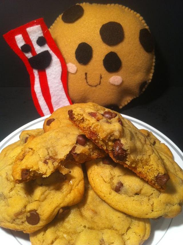 Maple Bacon ChocolateChip Cookies