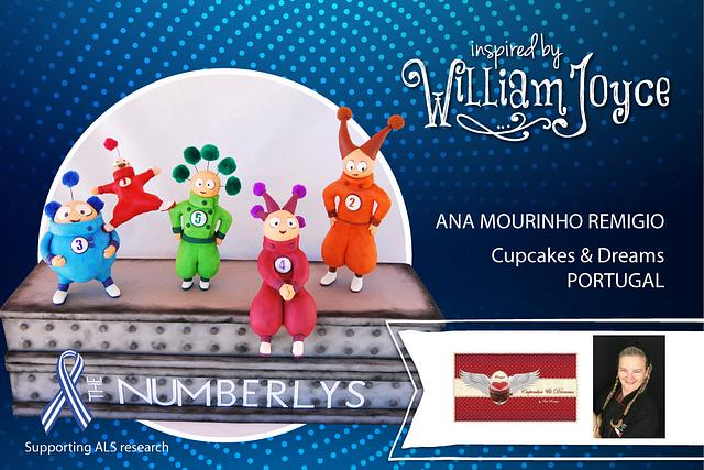 THE NUMBERLYS - Inspired by William Joyce