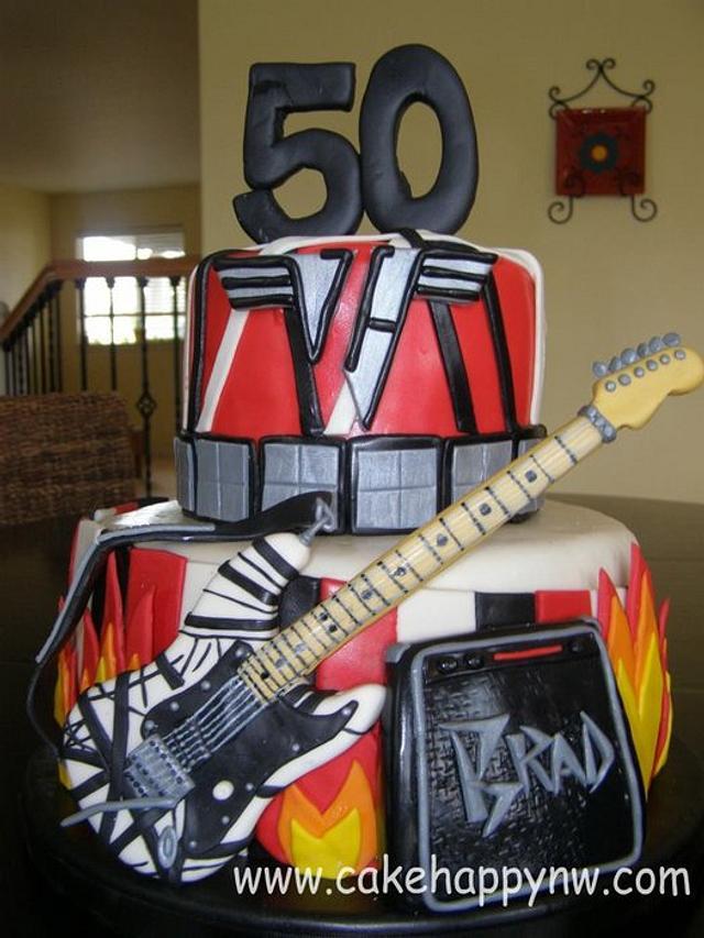 Van Halen Themed 50th Birthday!