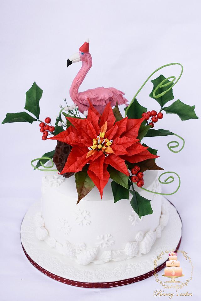A special Christmas cake for a special friend