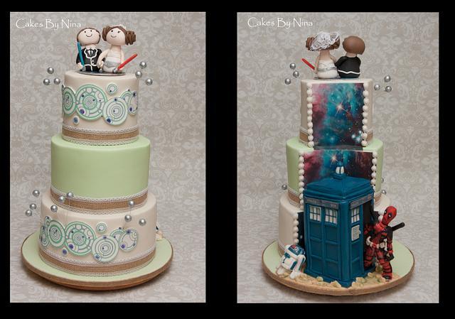 Sci Fi Deadpool Wedding