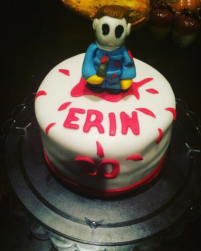 Michael Myers cake