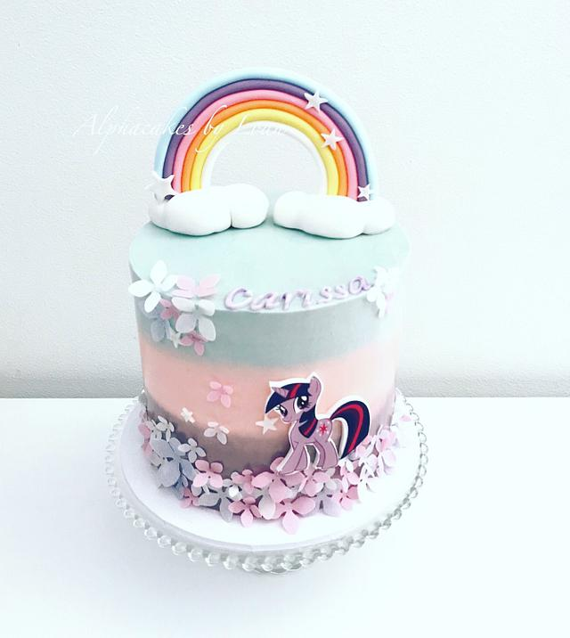 my little pony cake  cakeloan phan  cakesdecor