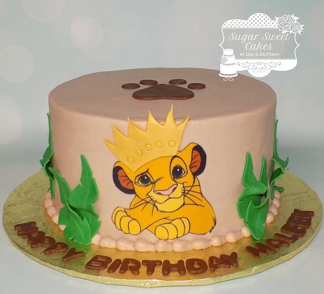 Swell Simba Cake By Sugar Sweet Cakes Cakesdecor Funny Birthday Cards Online Bapapcheapnameinfo