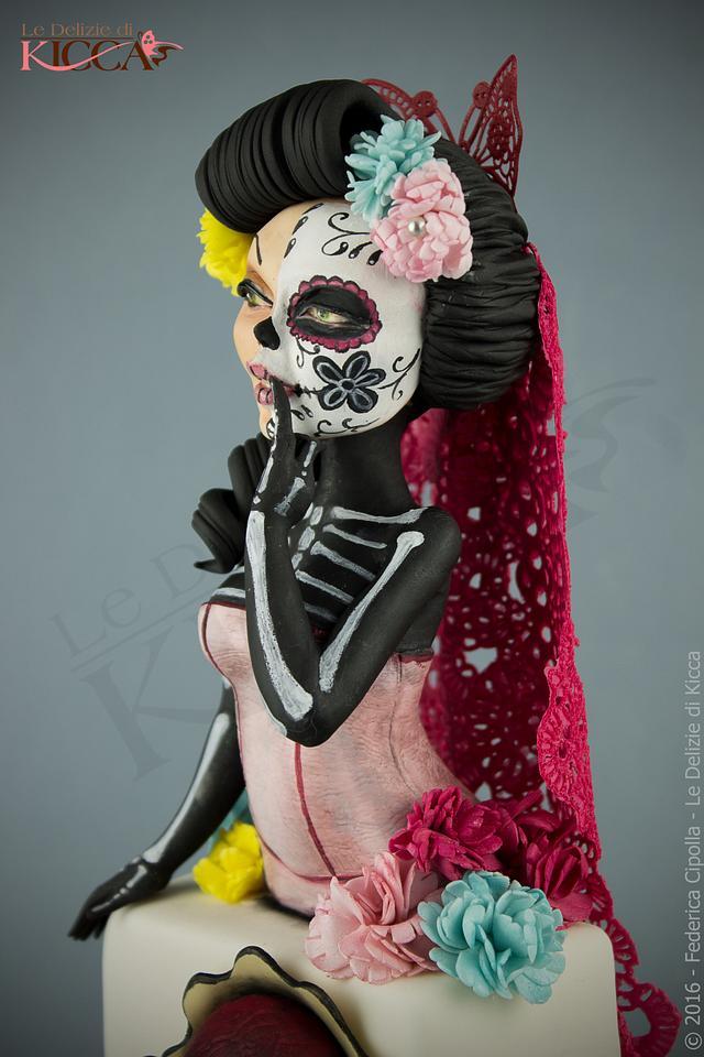 "La muerte ""Collaboration Sugar Skulls"""