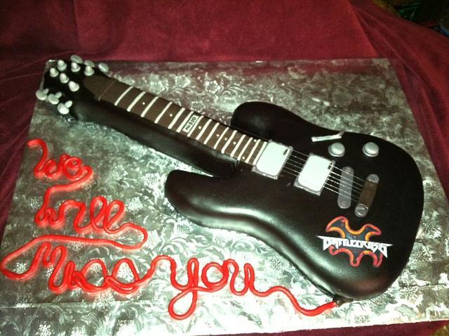 Ltd mh-100 Guitar Cake