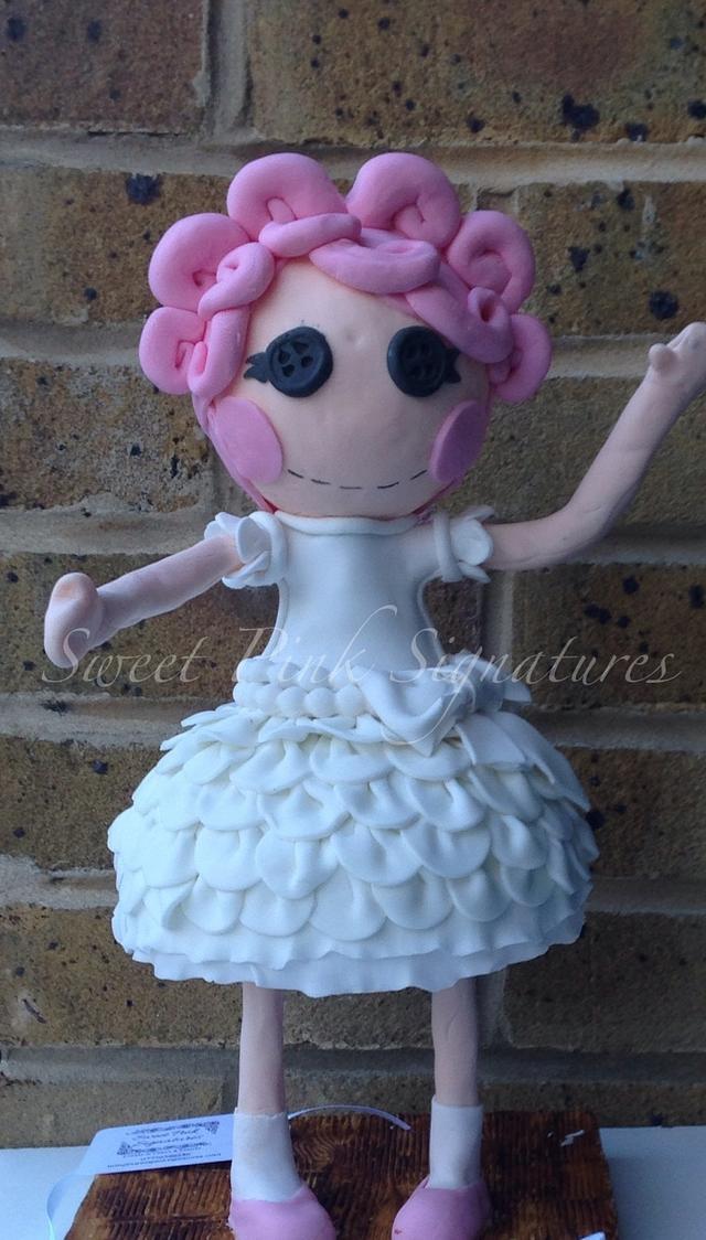 3D Lalaloopsy Cake
