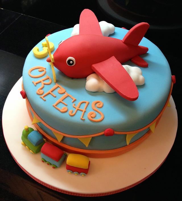Baby-boy Birthday cake!