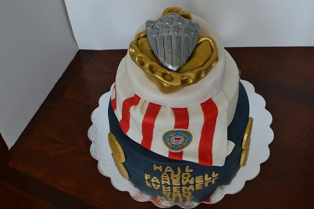 CG Chief's Hail & Farewell Cake