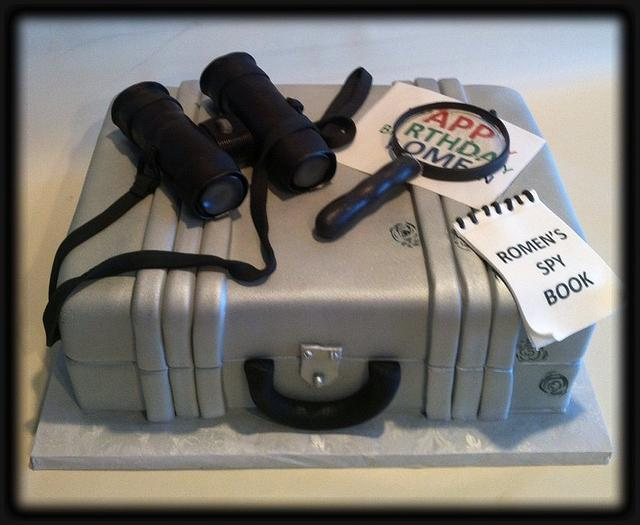 Super Spy Cake Cake By Skmaestas Cakesdecor Birthday Cards Printable Giouspongecafe Filternl