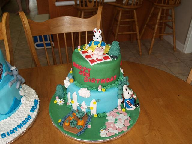Max and Ruby Birthday Cake