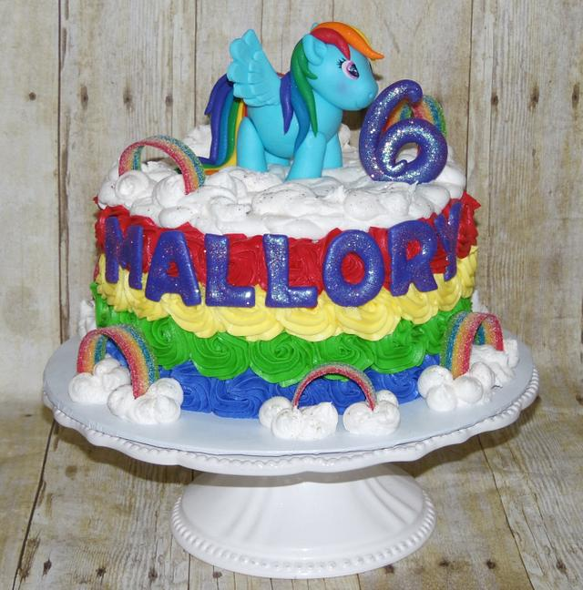 Fantastic Rainbow Dash Birthday Cake Cake By Daniellessweetside Cakesdecor Funny Birthday Cards Online Eattedamsfinfo