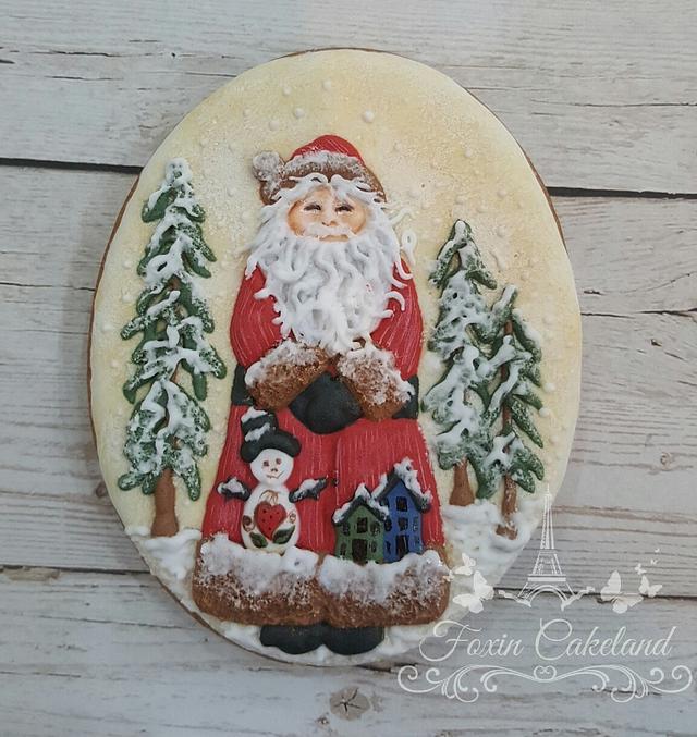 Santa Claus Relief Cookie